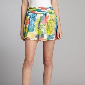 Alice+Olivia Kyla Sunflower Print Skirt - 0 - VGC